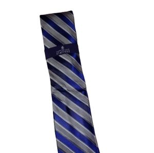 NWT.  Stafford blue and gray multi tie